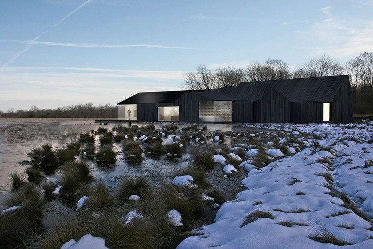 Proposta Vencedora para o Great Fen Visitor Center / Shiro Studio, Cortesia de Shiro Studio