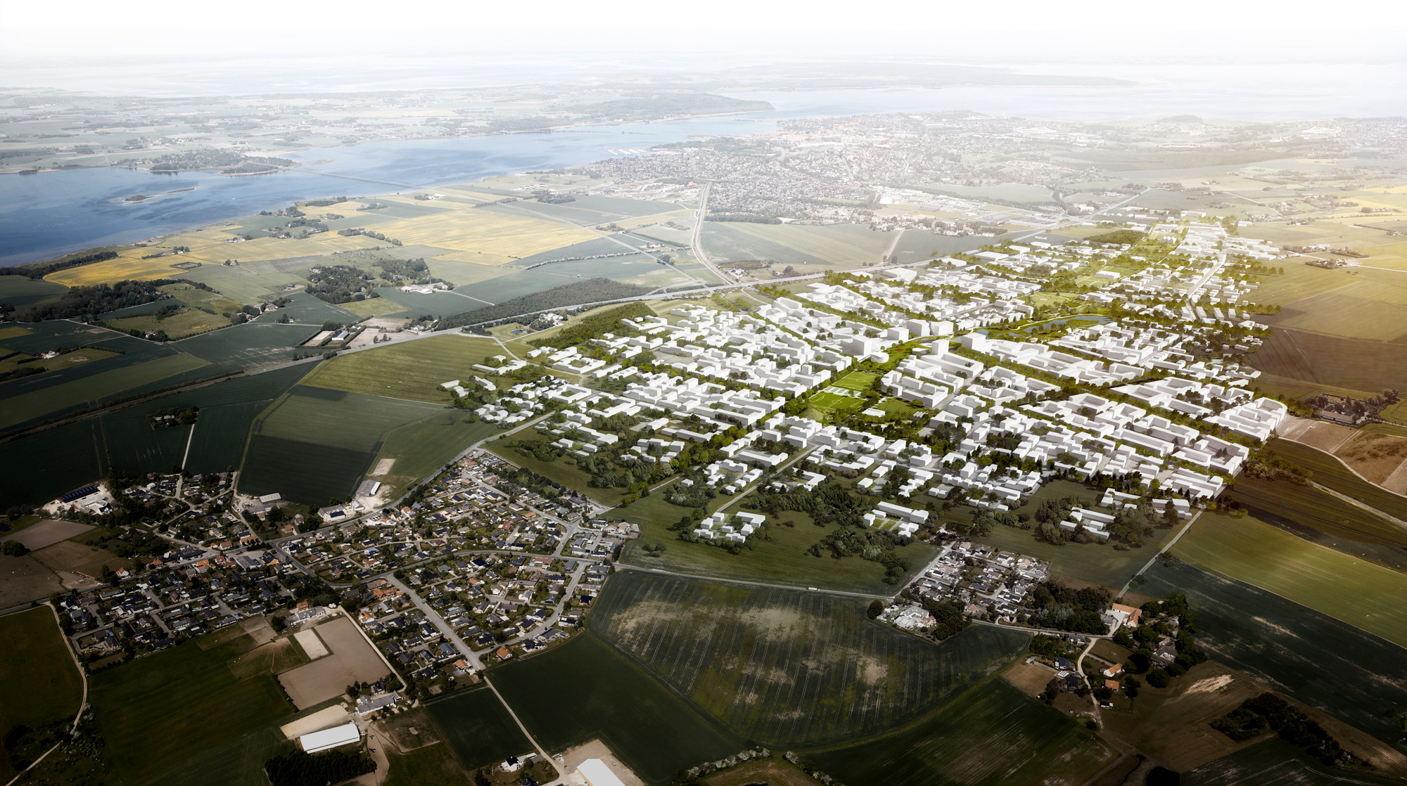 Vinge Masterplan Proposal / EFFEKT + Henning Larsen Architects, Courtesy of EFFEKT + Henning Larsen Architects