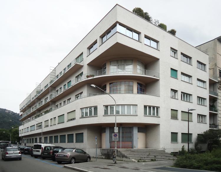 5 edifícios emblemáticos de Giuseppe Terragni, © José Tomás Franco