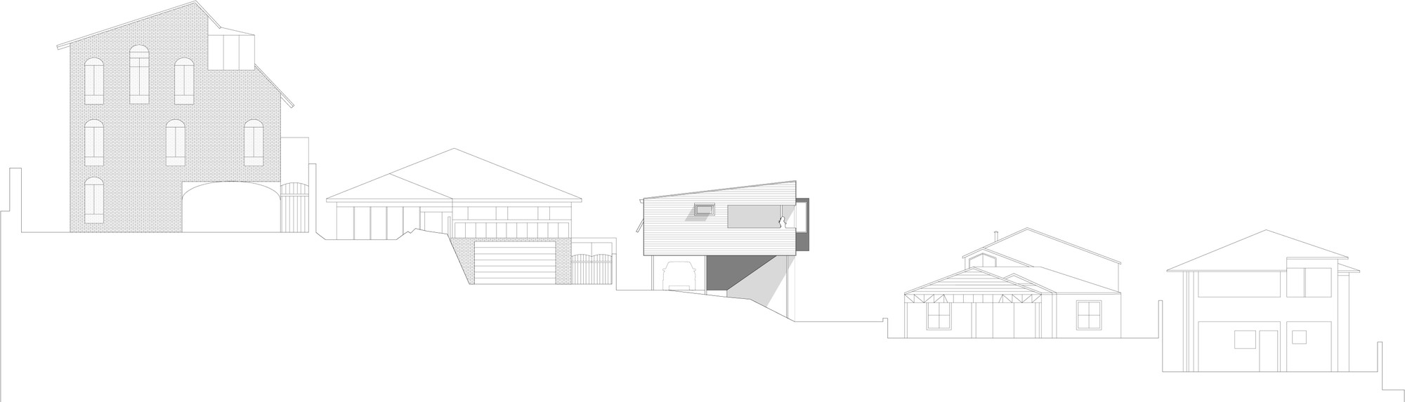 Gallery of suburban beach house david barr ross brewin for Beach house drawing