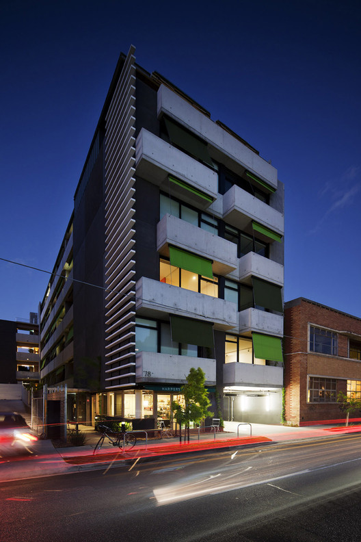 Harper Lane Apartments / McAllister Alcock Architects in collaboration with Neometro, © Shannon McGrath