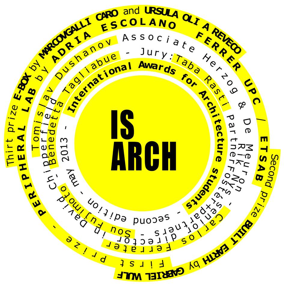 Ganadores Concurso IS ARCH 2013