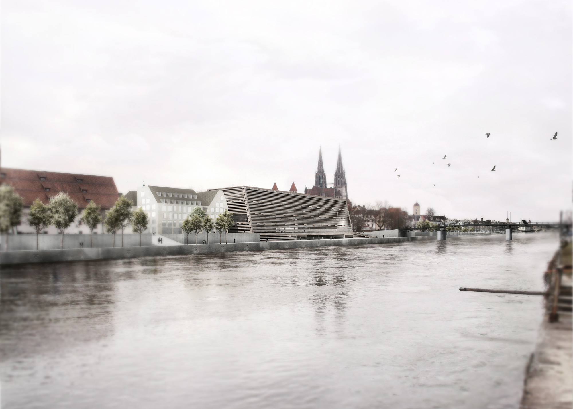 Museum of Bavarian History Competition Entry / Mauro Turin Architectes, Courtesy of Mauro Turin Architectes
