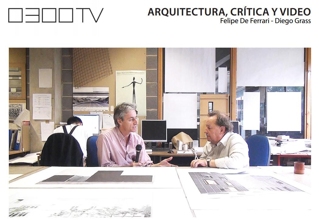 CONFERENCIA | Arquitectura, Crítica y Video