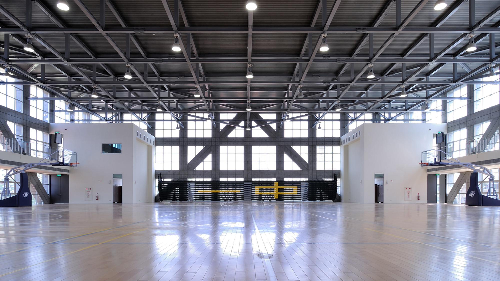 NTFSH Gymnasium / QLAB | ArchDaily