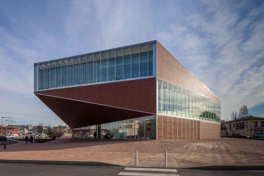 Media Library of Montauban / Colboc Franzen & Associés, © Paul Raftery