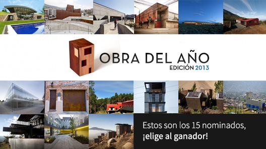 Premio Obra del Año 2013: ¡Conoce a los finalistas!
