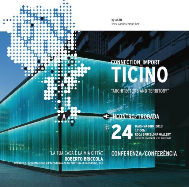 'Connection - Import Ticino' Exhibition