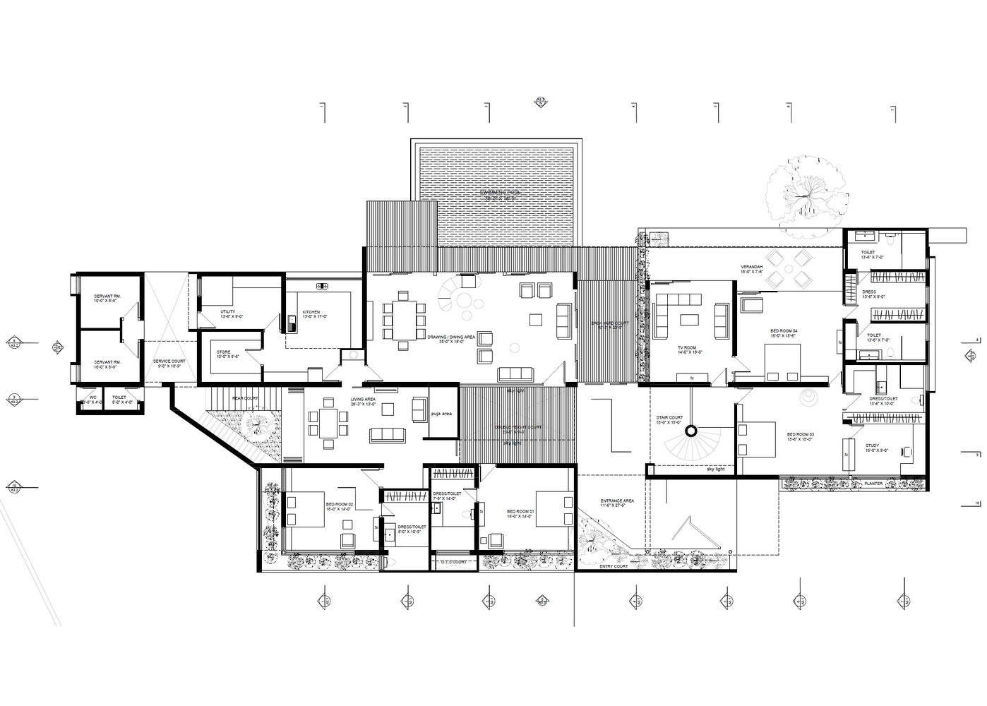Gallery of Aranya House Modo designs 42