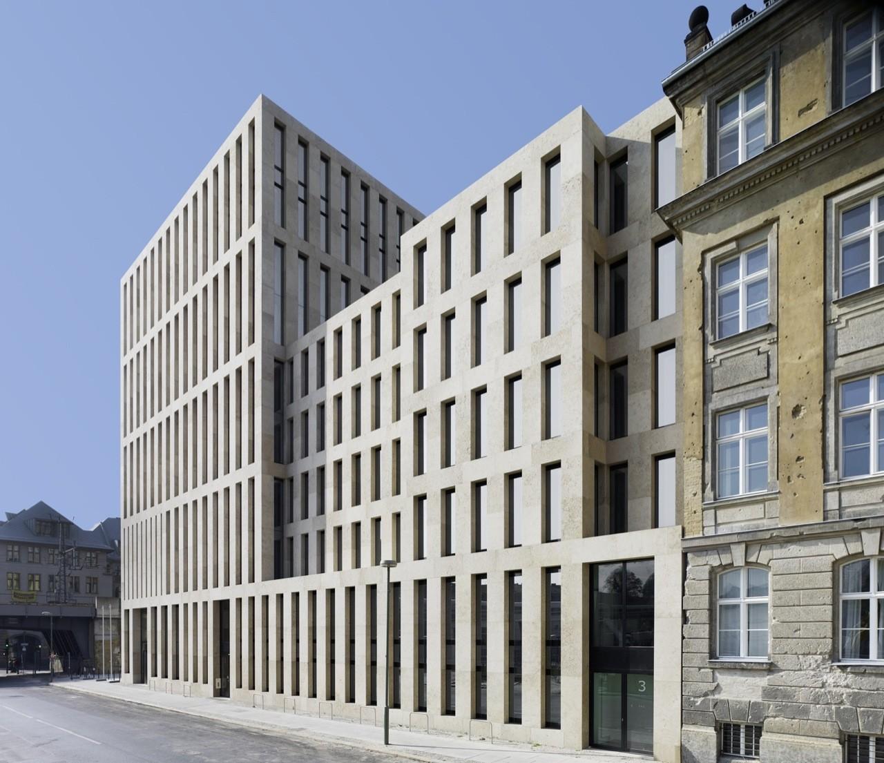 Jacob and wilhelm grimm centre max dudler archdaily - Architekt trier ...