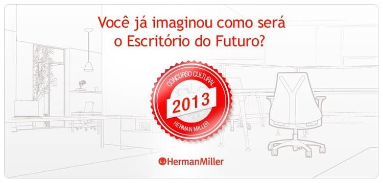 """Herman Miller anuncia vencedores do concurso cultural """"como você vê o escritório do futuro no brasil?"""""""