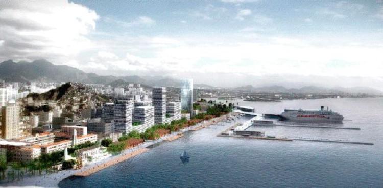 Arquitetos apresentam projeto de Píer para zona portuária do Rio de Janeiro