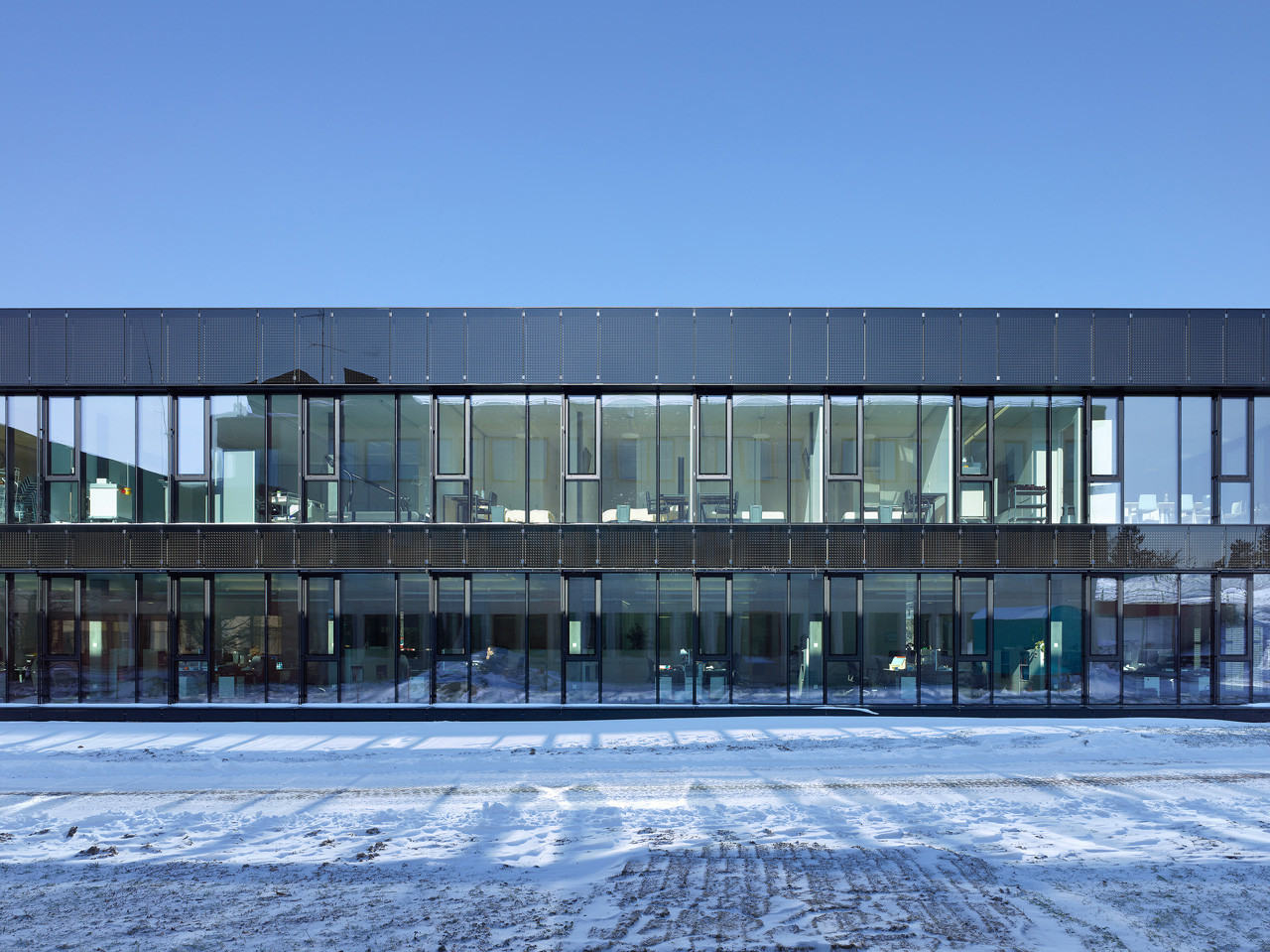 Extension Nestle Research Center / Burckhardt + Partner, Courtesy of Burckhardt + Partner