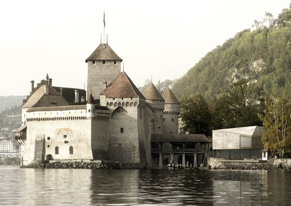 'Fragments & Miracles': Château de Chillon Competition Entry / Lapo Ruffi, Vanessa Giandonati, Courtesy of Lapo Ruffi, Vanessa Giandonati