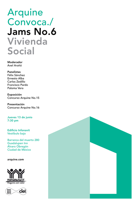 Arquine Jams No. 6 / Vivienda Social, Courtesy of Arquine