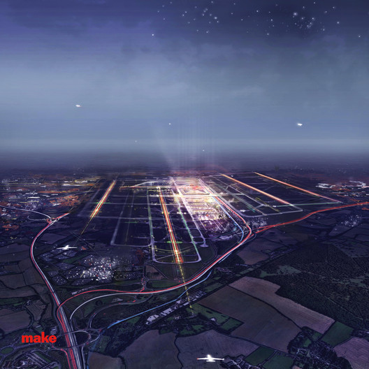 Stansted Airport Proposal / Make Architects
