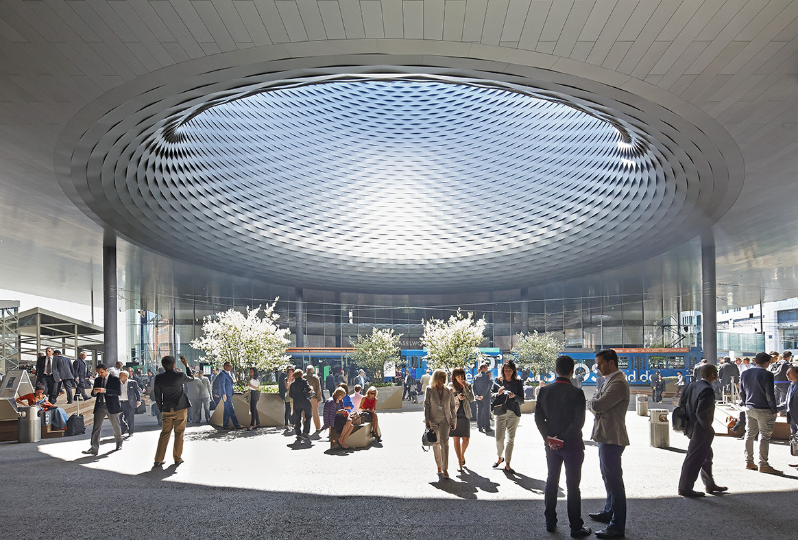 Gallery Of Messe Basel New Hall Herzog Amp De Meuron By