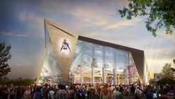 HKS Unveils New $975 Million Minneapolis Stadium / HKS