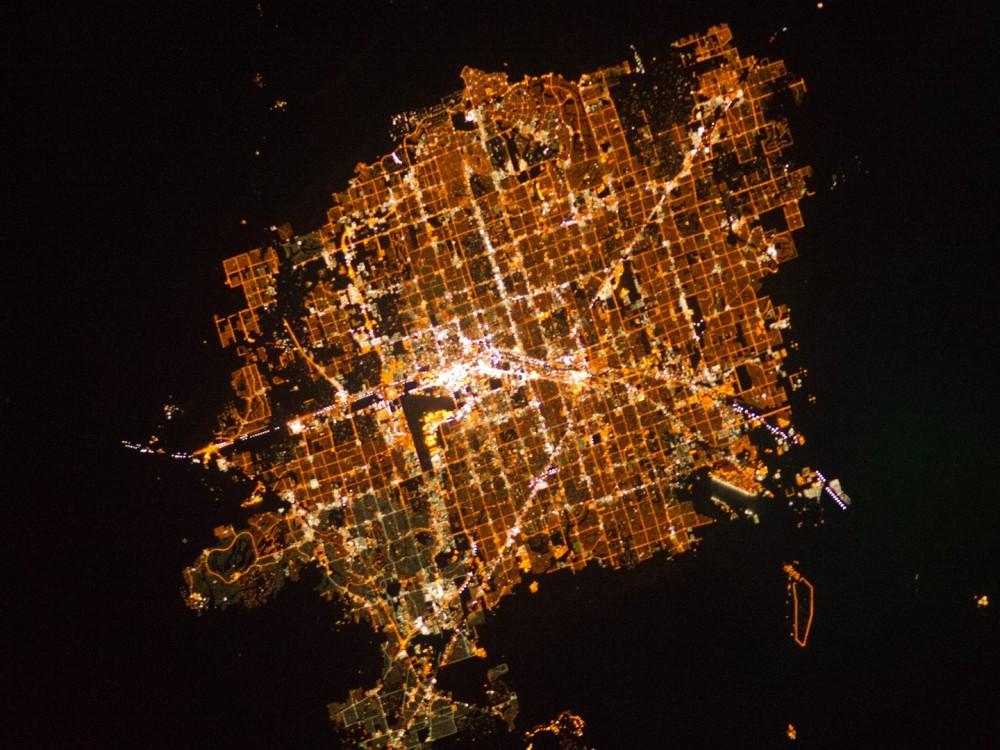20 imágenes satelitales de ciudades tomadas por la NASA