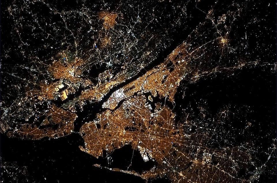 20 Im 225 Genes Satelitales De Ciudades Tomadas Por La Nasa