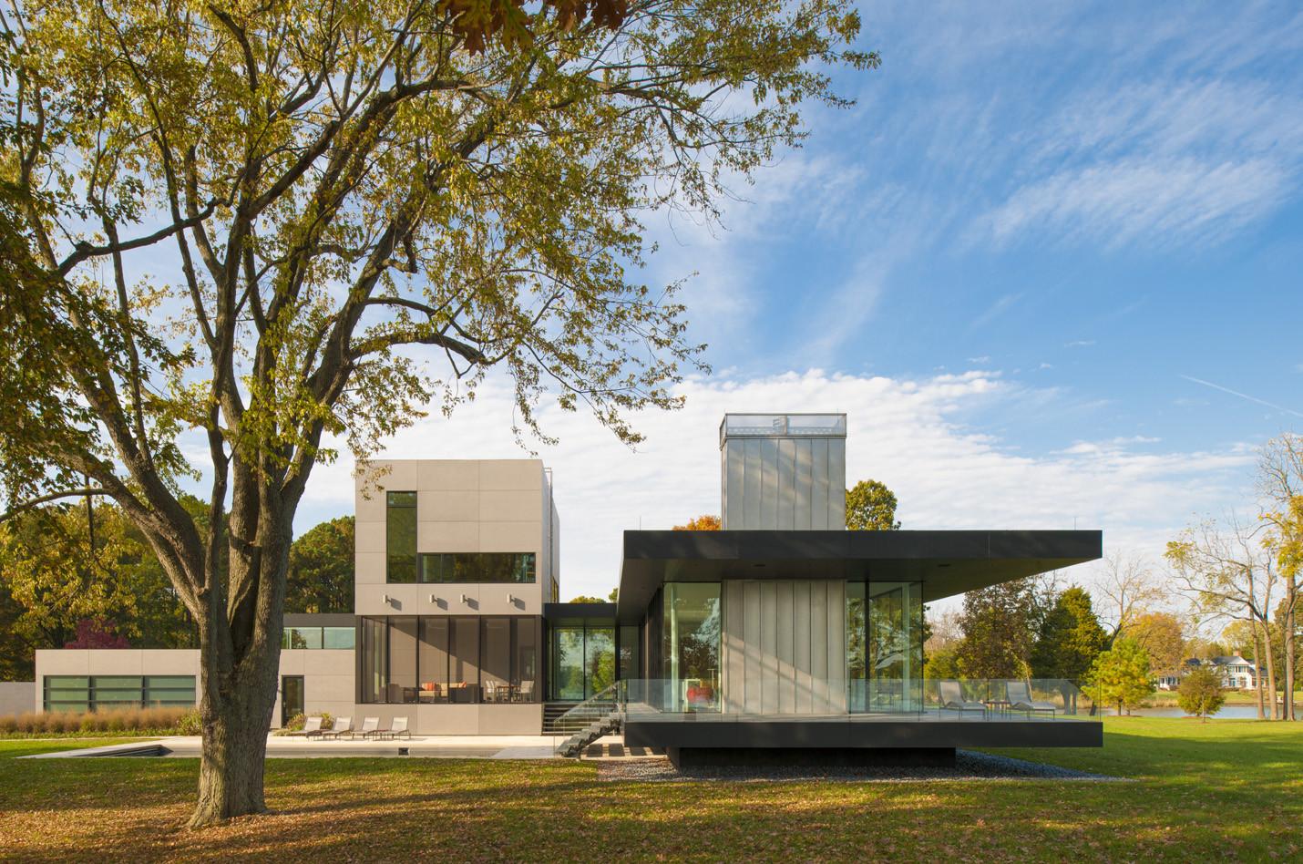 Tred Avon River House / Robert M. Gurney Architect | ArchDaily