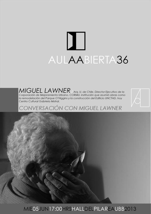 Aula Abierta: Conversación con Miguel Lawner