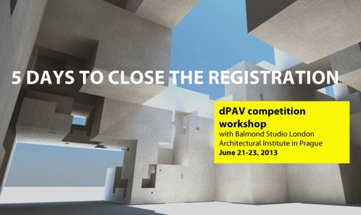reSITE dPAV Competition Workshop: 5 days to close the registration