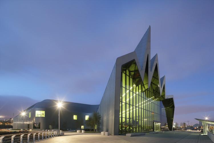 Zaha Hadid vence o Prêmio Museu Europeu do Ano com o Riverside em Glasgow, © Hufton+Crow