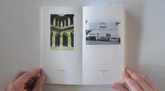 """""""Pictographs—Statement of contemporary architects"""" - Edited by Valerio Oligiati; Video Still"""