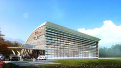 Changbaishan Exhibition Hall Winning Proposal / ZNA