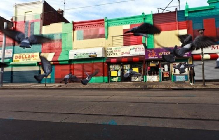 Programa de Murais Artísticos transforma a paisagem urbana do centro da Filadélfia, Cortesia de muralarts.org