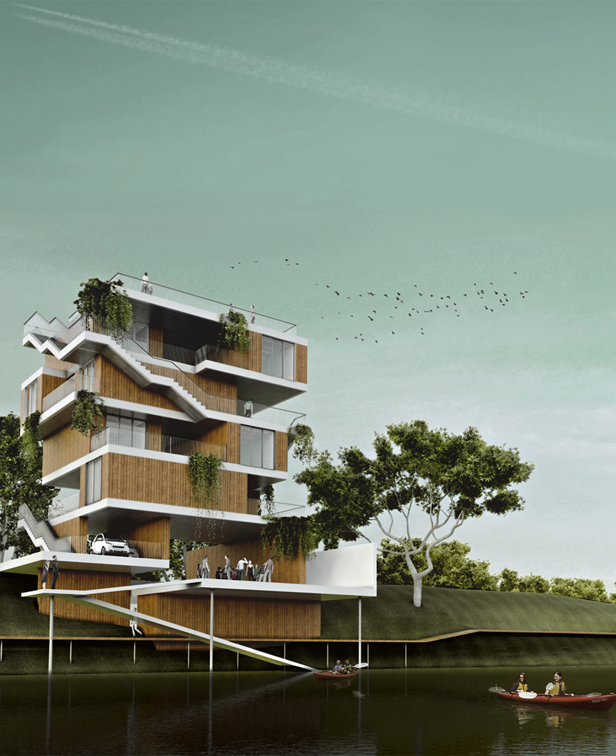 Housing Ideas Gallery Of Micro Housing Ideas Competition 2013 Winners Announced  3