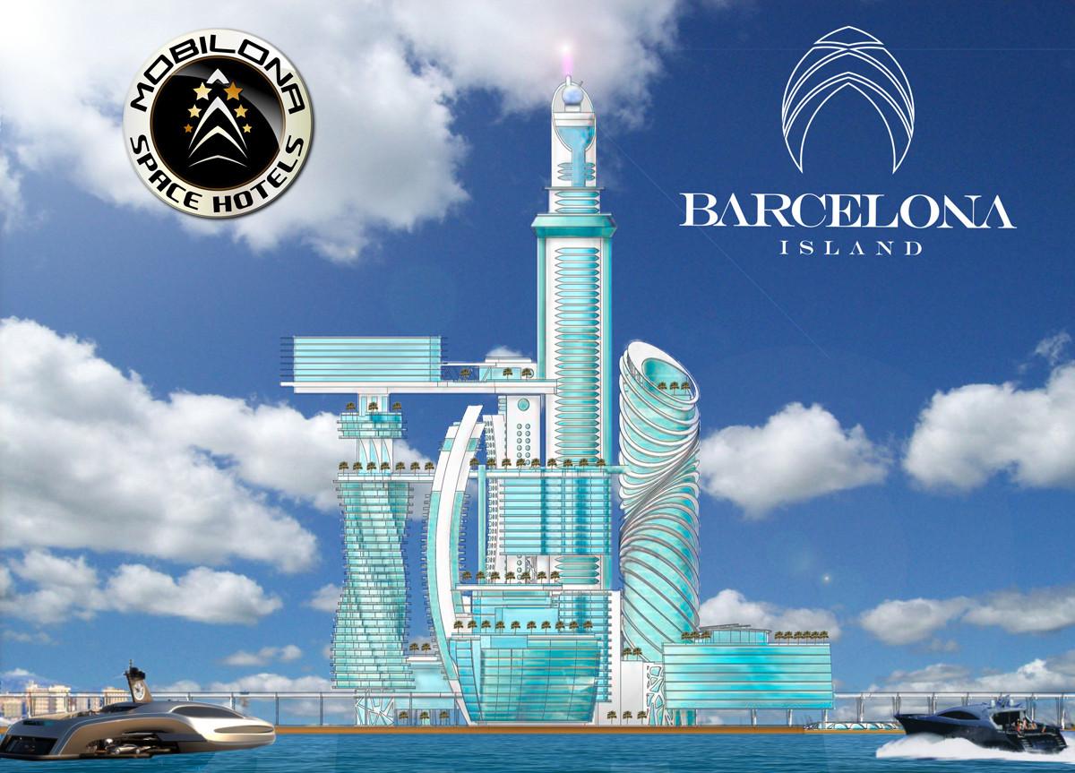 Siguiendo los pasos de Dubai: Consorcio Multinacional busca construir el hotel más alto de Europa sobre una Isla artificial en Barcelona, © Barcelona Island