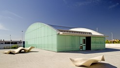 Cultural and Social Center in Carrús / Julio Sagasta + Fuster Arquitectos