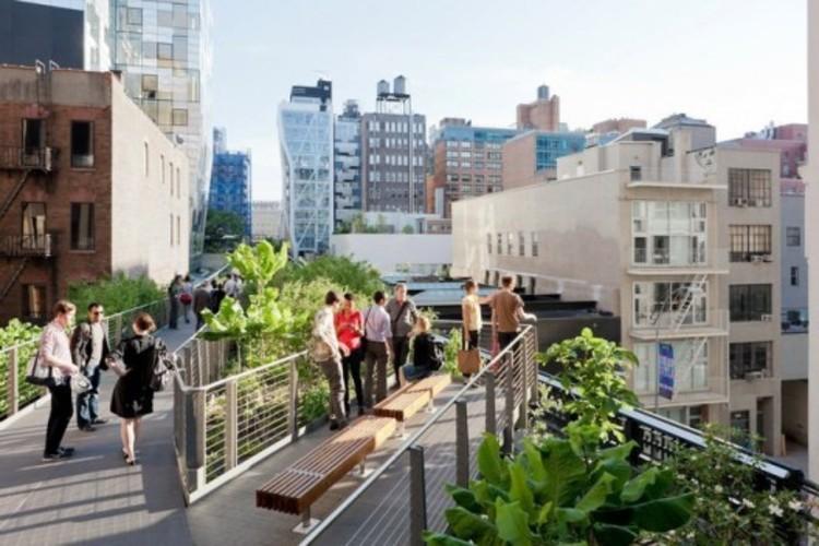 Curso Intensivo de Arquitetura Moderna (Parte 2), High Line em Nova Iorque é um bom exemplo do que está por vir