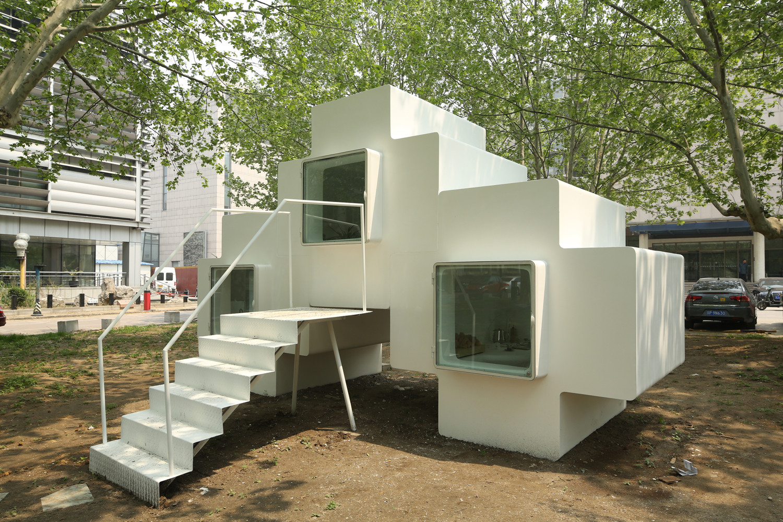 Micro house studio liu lubin archdaily for Studio house