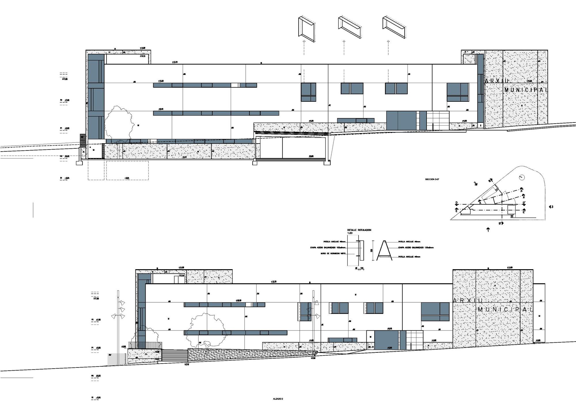 Galeria de arquivo hist rico municipal de elche julio - Arquitectos elche ...