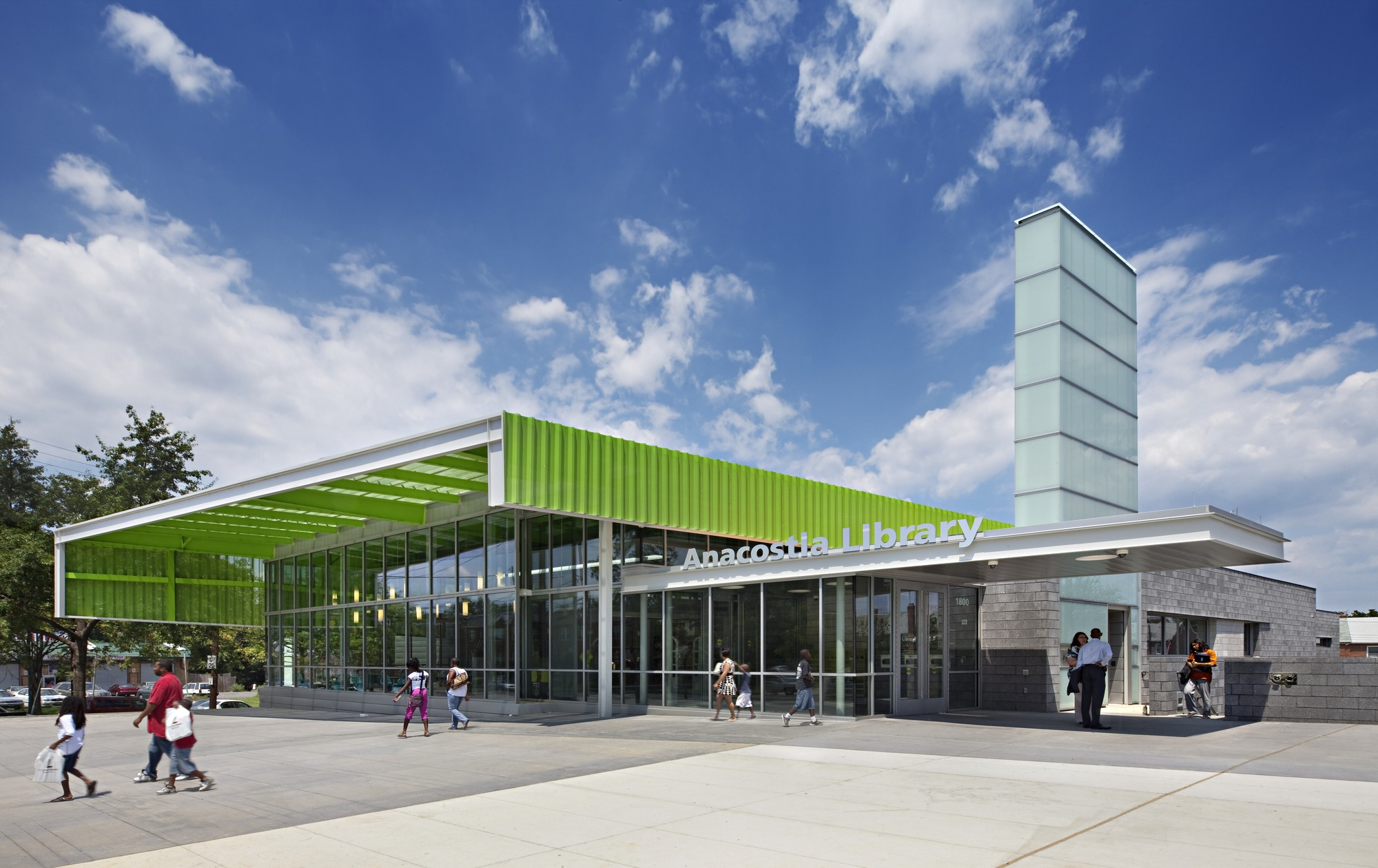 2013 AIA/ALA Library Building Awards Announced, Anacostia Neighborhood Library; Washington, D.C. / The Freelon Group © Mark Herboth Photography