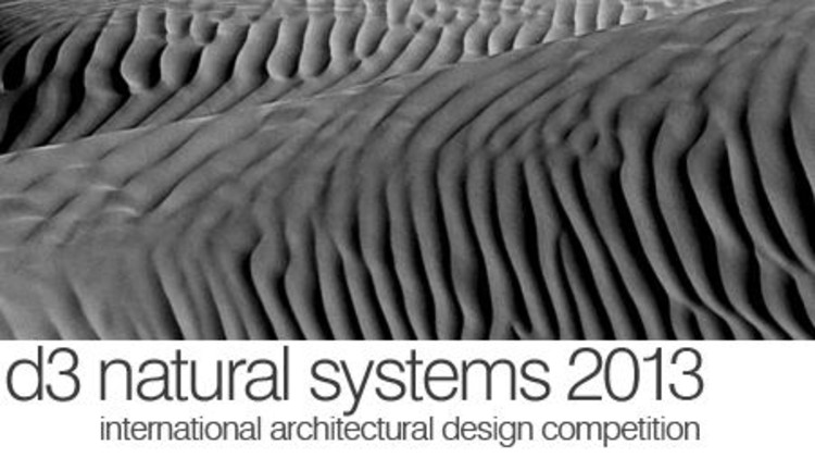 Concurso d3 Natural Systems 2013 , Courtesy of d3
