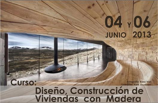 Curso de Diseño y Construcción de Viviendas con Madera / CAM-SAM, Courtesy of CAMSAM