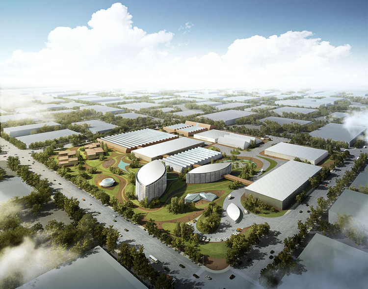 Research & Design Center Proposal / Latitude Studio, Courtesy of Latitude Studio