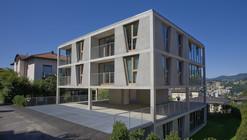 Apartment House in Pregassona / Martino Pedrozzi