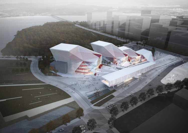 Sejong Art Center Competition Entry / H Architecture + Haeahn Architecture, Courtesy of H Architecture + Haeahn Architecture