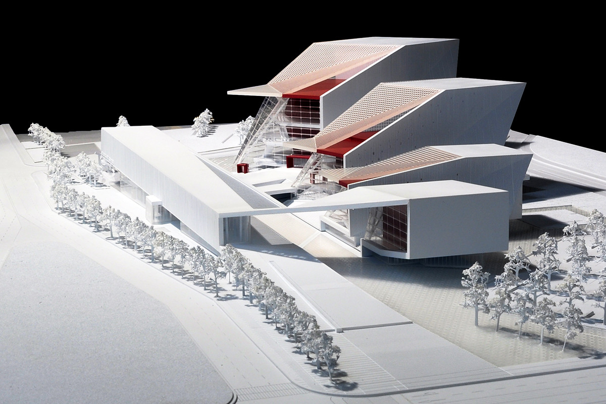 Gallery of sejong art center competition entry h for Architecture 00