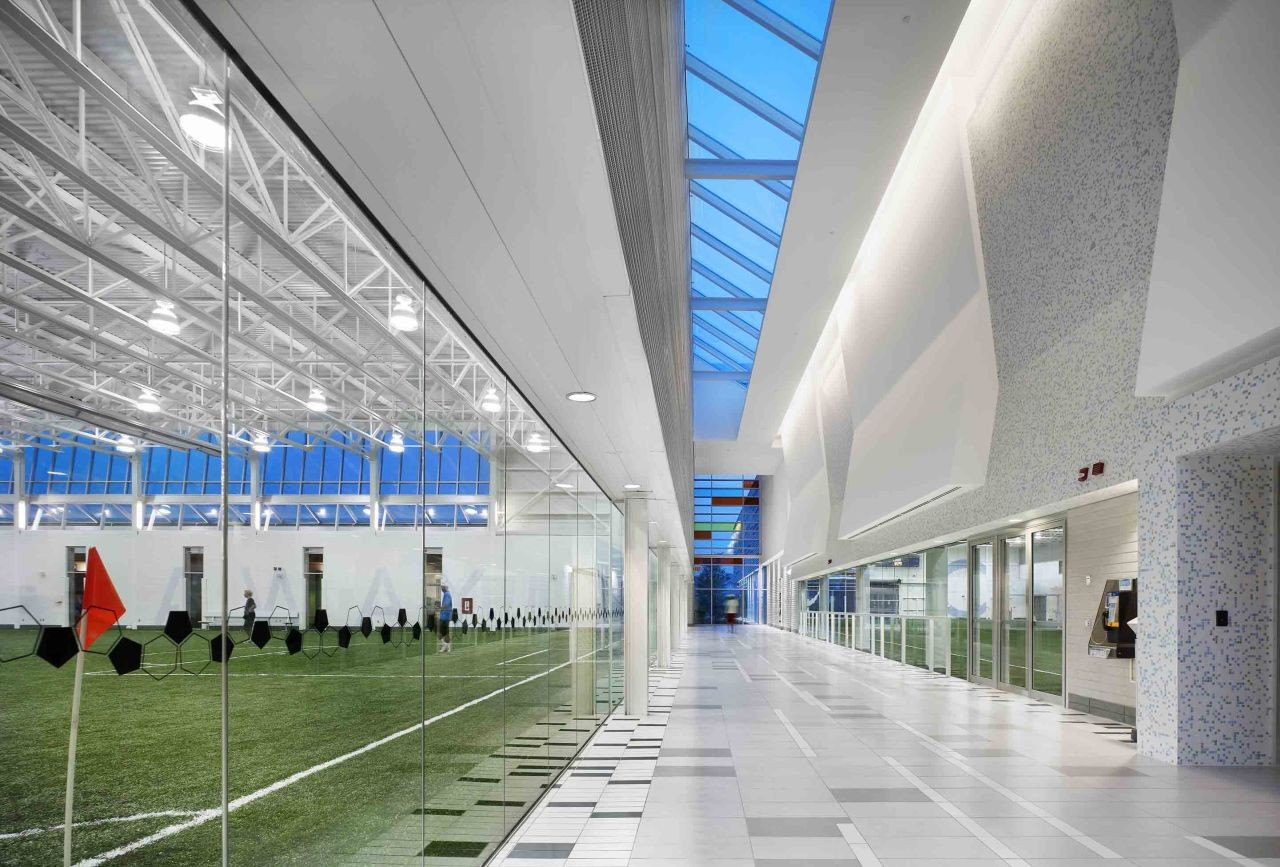 Gallery of brampton soccer centre maclennan jaunkalns for Indoor facility design