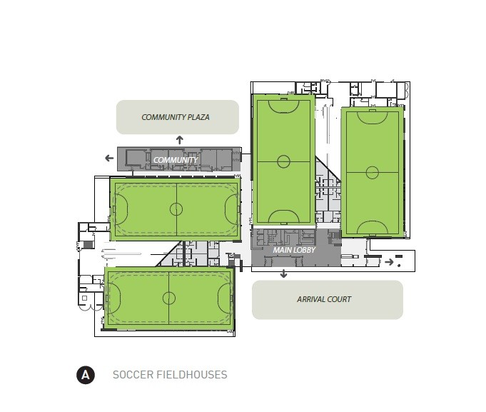 Brampton Soccer Centre MacLennan Jaunkalns Miller Architects 19 29 Plan