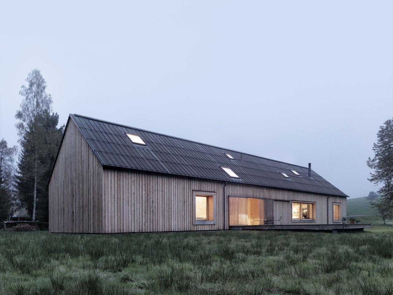 haus am moor bernardo bader architects archdaily. Black Bedroom Furniture Sets. Home Design Ideas