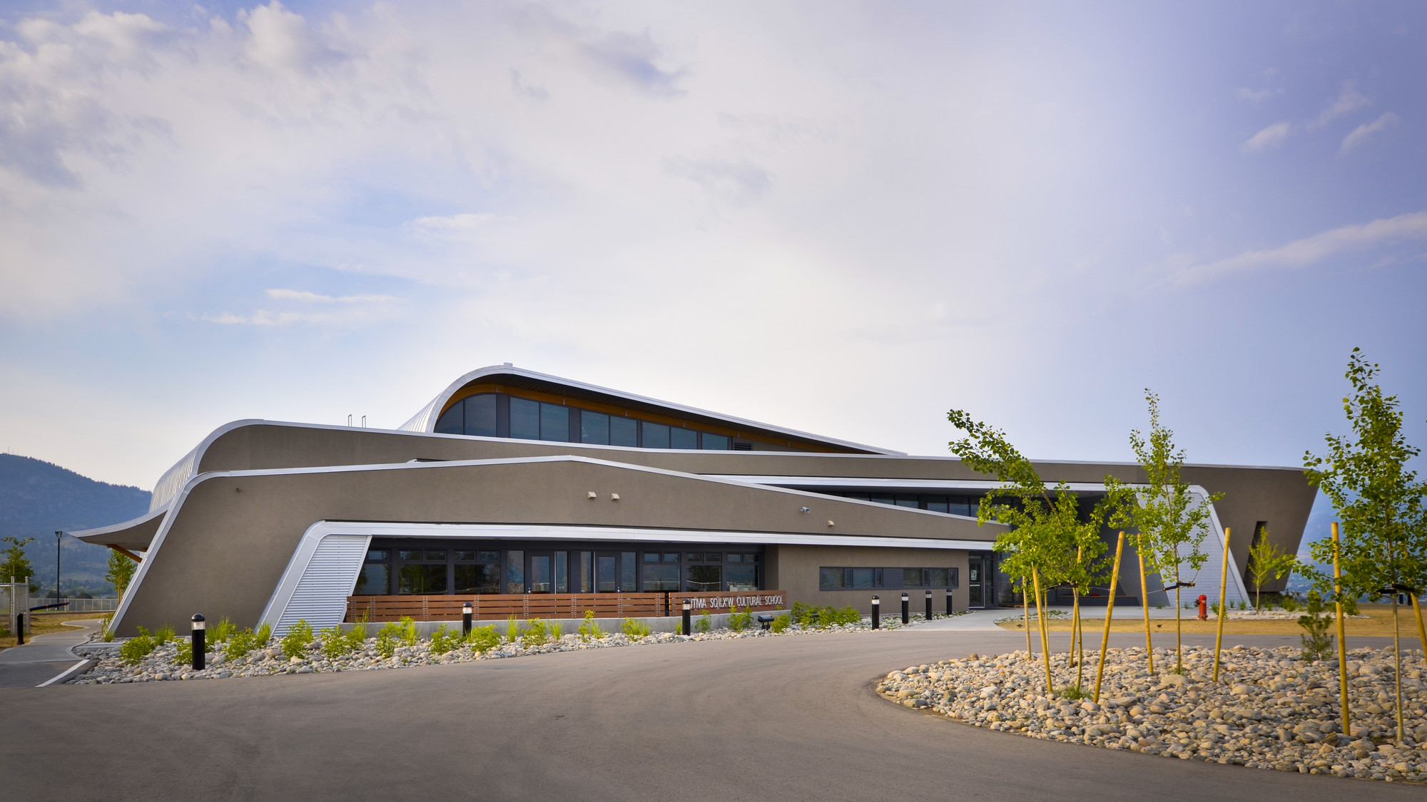 Outma Sqilx'w Cultural School / Iredale Group Architecture, © Andrew Doran