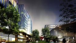 schmidt hammer lassen architects dá inicio as obras na orla de Xangai