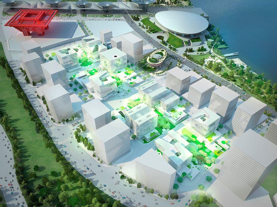 Green Valley Project Proposal / Schmidt Hammer Lassen Architects, Courtesy of Schmidt Hammer Lassen Architects